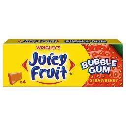 Bubble Gum Strawberry Guma do żucia  (4 kostki)