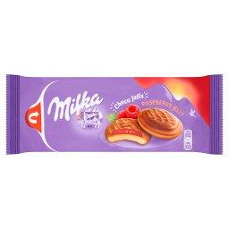 Choco Jaffa Biszkopty z galaretką o smaku malinowym oblane czekoladą mleczną