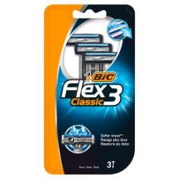 Flex 3 Classic Jednoczęściowe maszynki do golenia 3 sztuki