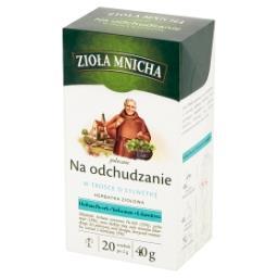 Zioła Mnicha Na odchudzanie Herbatka ziołowa 40 g