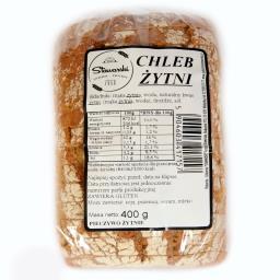 Chleb żytni 400g krojony
