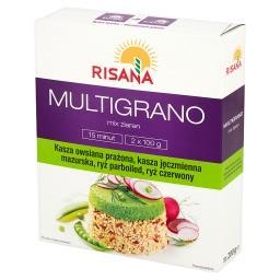 Multigrano Mix ziaren z ryżem czerwonym 200 g (2 torebki)