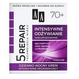 Technologia Wieku 5Repair 70+ Intensywne odżywianie dzienno-nocny 50 ml