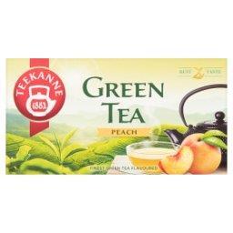 Herbata zielona o smaku brzoskwiniowym 35 g