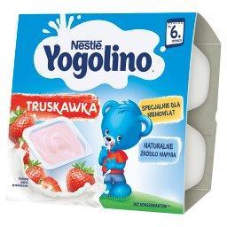 Yogolino Deserek mleczno-owocowy truskawka po 6 miesiącu 400 g