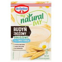 My natural day Budyń zbożowy orkiszowy smak śmietank...