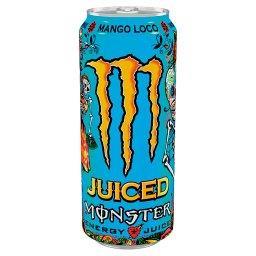Mango Loco Gazowany napój energetyczny