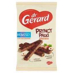 PryncyPałki Wafelki z kremem o smaku orzechów laskowych w czekoladzie