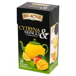 Cytryna & Mango Herbata czarna z kawałkami owoców 40 g (20 torebek)