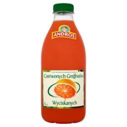 100% Sok z czerwonych grejpfrutów wyciskanych 1 l