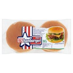 Maxi Bułki pszenne do hamburgerów 328 g (4 sztuki)