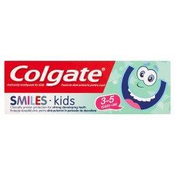 Smiles Kids Przeciwpróchnicza pasta do zębów dla dzieci 3-5 lat