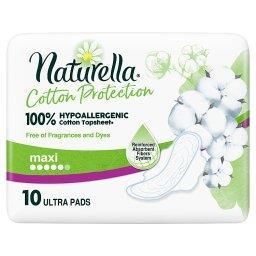 Cotton Protection Ultra Maxi Podpaski ze skrzydełkami x10