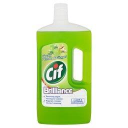Brilliance Green Lemon & Ginger Uniwersalny płyn do czyszczenia 1 l