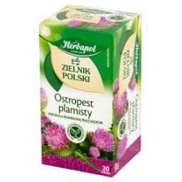 Zielnik Polski Ostropest plamisty Herbatka ziołowa 40 g