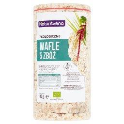 Ekologiczne wafle 5 zbóż