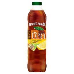 Black Tea Napój niegazowany czarna herbata cytryna limonka