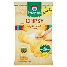 Chipsy o smaku wiejskie masło z solą