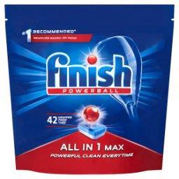 All in 1 Max Tabletki do mycia naczyń w zmywarce  (42 sztuki)
