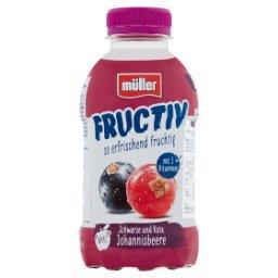 Fructiv Napój na bazie produktu serwatkowego porzeczki