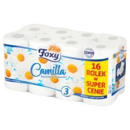 Camilla Papier toaletowy trójwarstwowy 16 rolek