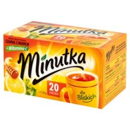 Herbata czarna aromatyzowana z miodem 34 g (20 torebek)