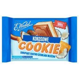 Cookie Czekolada mleczna z nadzieniem kokosowym i herbatnikiem
