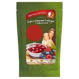 Zupa z owocami leśnymi i makaronem