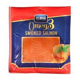 Omega-3 łosoś  wędzony na zimno w plastrach 50g