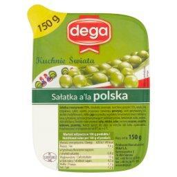 Kuchnie Świata Sałatka a'la polska