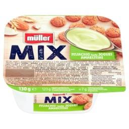 Mix Jogurt o smaku pistacjowym z ciasteczkami migdał...
