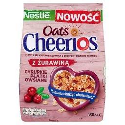 Cheerios Oats Chrupkie płatki owsiane z żurawiną