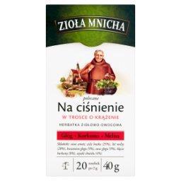 Zioła Mnicha Na ciśnienie Herbatka ziołowo-owocowa 4...