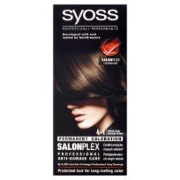 SalonPlex Farba do włosów średni brąz 4-1