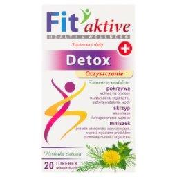 Fit aktive Detox Suplement diety herbatka ziołowa  (20 x 2 g)