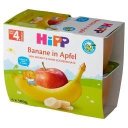 BIO Owocowa Chwila Jabłka-banany po 4. miesiącu 400 g (4 x )