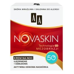 Novaskin 50+ krem na noc ujędrnienie + odbudowa 50 ml