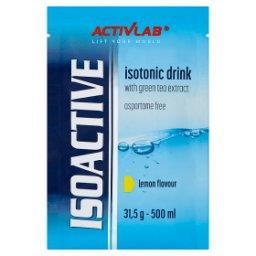 Isoactive Napój izotoniczny instant z dodatkiem zielonej herbaty o smaku cytrynowym