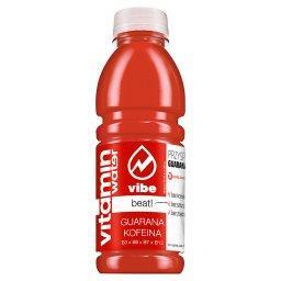 Vitamin Water Beat! z Guaraną i Kofeiną Napój niegazowany