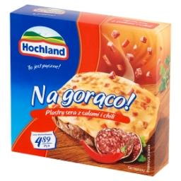 Na gorąco! Plastry sera z salami i chili