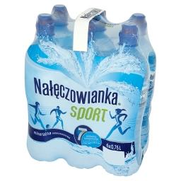 Sport Naturalna woda mineralna niegazowana 6 x 0,75 l