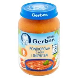Pomidorowa z ryżem i indykiem po 8 miesiącu