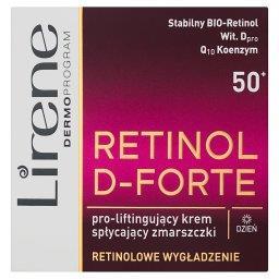 Retinol D-Forte 50+ Pro-liftingujący krem spłycający zmarszczki na dzień