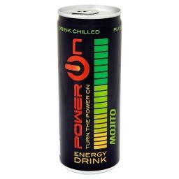Energy Drink Mojito Gazowany napój energetyzujący o smaku mięty i limonki
