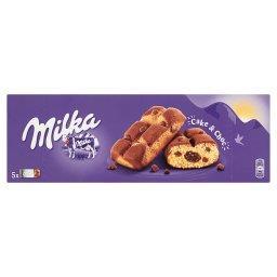 Cake & Choc Ciastka biszkoptowe z kawałkami czekolady mlecznej 175 g (5 sztuk)