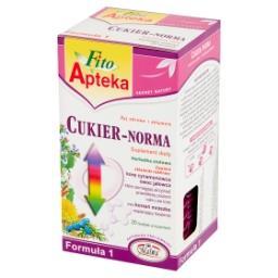 Formuła 1 Cukier-Norma Suplement diety Herbatka ziołowa 40 g (20 torebek)