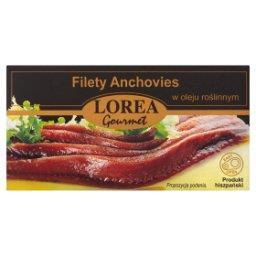 Filety Anchovies w oleju roślinnym