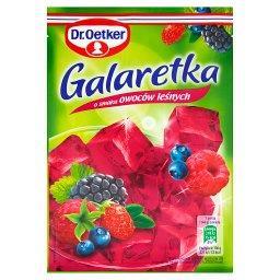 Galaretka o smaku owoców leśnych