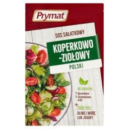 Sos sałatkowy koperkowo-ziołowy polski
