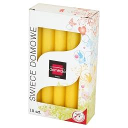 Świece domowe żółte 20 mm/170 mm czas palenia 6 h 10...